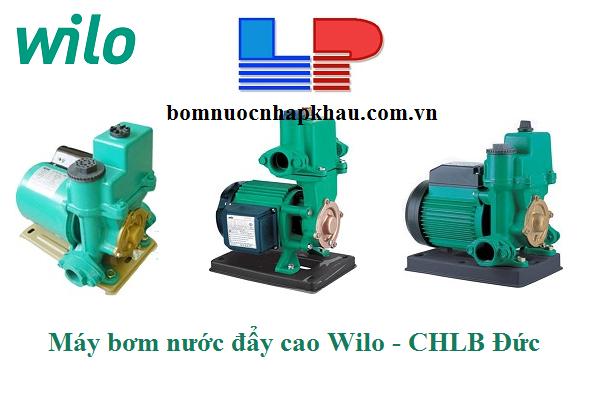 Bảng báo giá máy bơm nước đẩy cao Wilo  - Cập nhập thông tin mới nhất