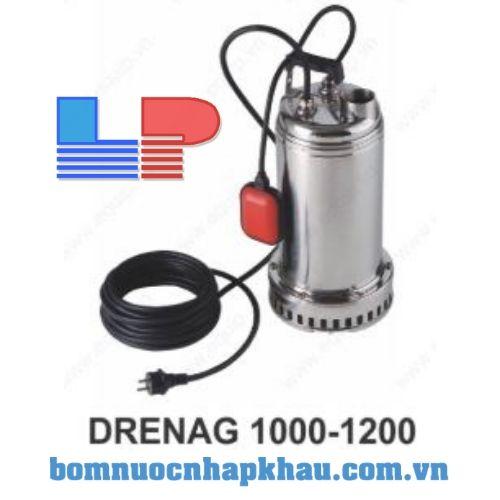 Bơm chìm nước thải inox DAB DRENAG 1000M-A (PHAO)