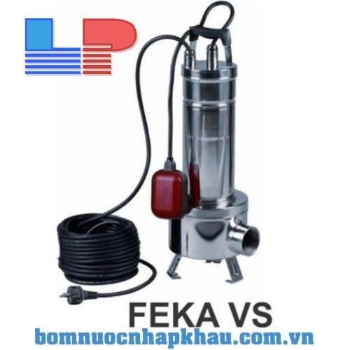 Bơm chìm nước thải inox DAB FEKA VS 1200M-A (PHAO)