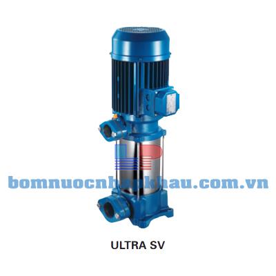 BƠM TRỤC ĐỨNG CÁNH INOX PENTAX U7SV-400/8T (4HP)