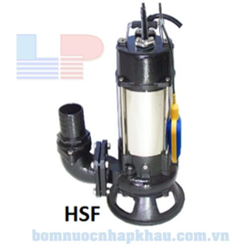 Máy bơm chìm hút bùn có phao NTP HSF2100-13.7 205 (T)