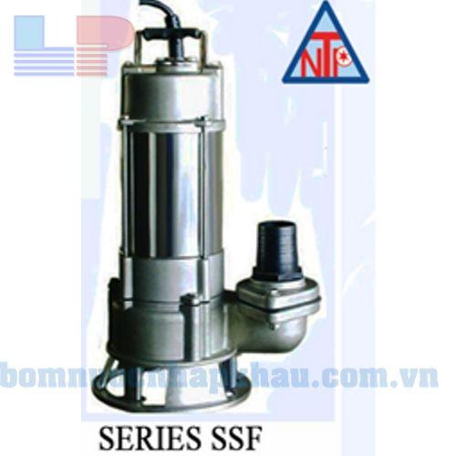 Máy bơm chìm hút bùn inox NTP SSF250-1.37 205