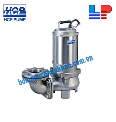 Máy Bơm Chìm Hút Nước Thải INOX Đúc 316 HCP 80SFP22.2 3HP