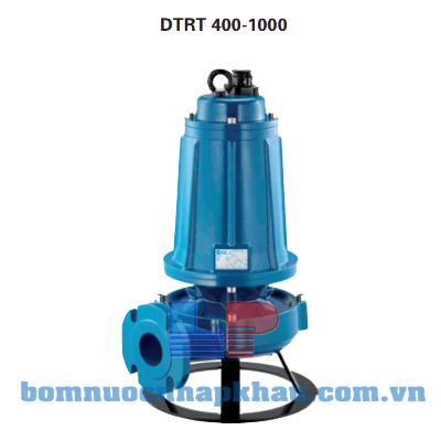 Máy bơm chìm nước thải công nghiệp cánh cắt DTRT 400 (4Hp)