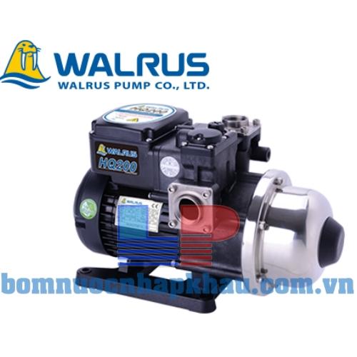 Máy bơm dân dụng tăng áp điện tử Walrus HQ-200