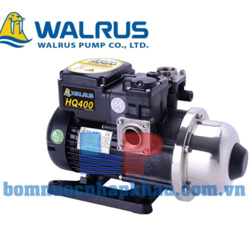Máy bơm dân dụng tăng áp điện tử Walrus HQ-400