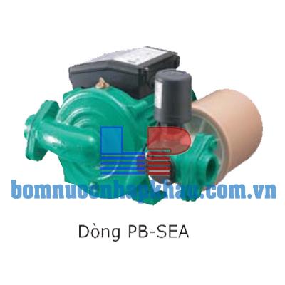 Máy bơm tăng áp điện tử có bình tích áp Wilo PB-401SEA