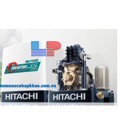 Máy bơm tăng áp tự động vuông Hitachi WM-P400GX-SPV-WH INVERTER