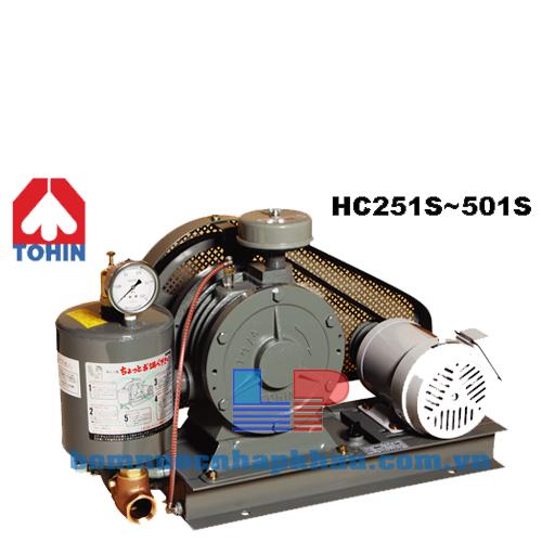 Máy thổi khí Tohin HC 601S (CO Nhật)