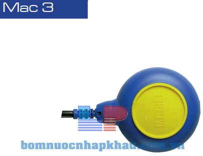 Phao mực nước MAC 3 - NEOP. H07BN-4F (cáp 3m)